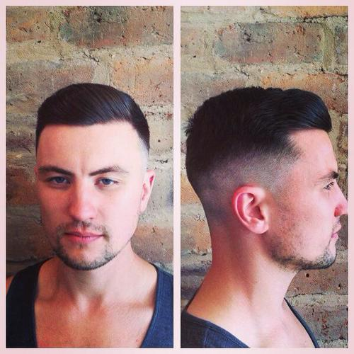 One of our customers who had a more traditional haircut from our Affordable Traditional Haircuts Glasgow services.